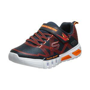 Flex-Glow Elite Sneaker Kinder, dunkelblau / orange, zoom bei OUTFITTER Online