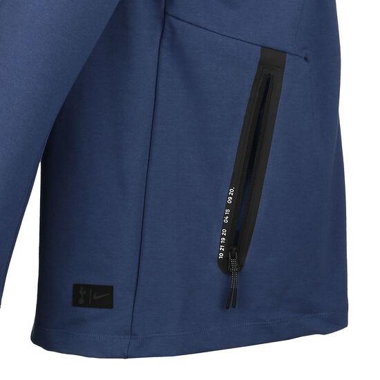 Tottenham Hotspur Tech Pack Kapuzenjacke Herren, blau / gelb, zoom bei OUTFITTER Online