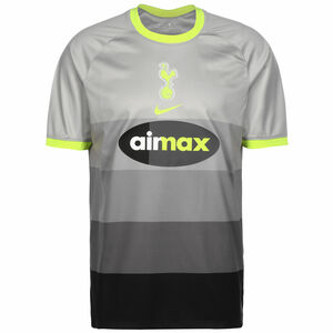 Tottenham Hotspur Trikot Air Max Stadium 2020/2021 Herren, grau / neongelb, zoom bei OUTFITTER Online