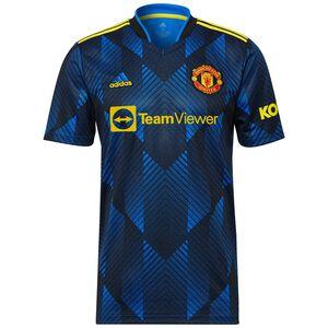 Manchester United Trikot 3rd 2021/2022 Herren, blau / gelb, zoom bei OUTFITTER Online