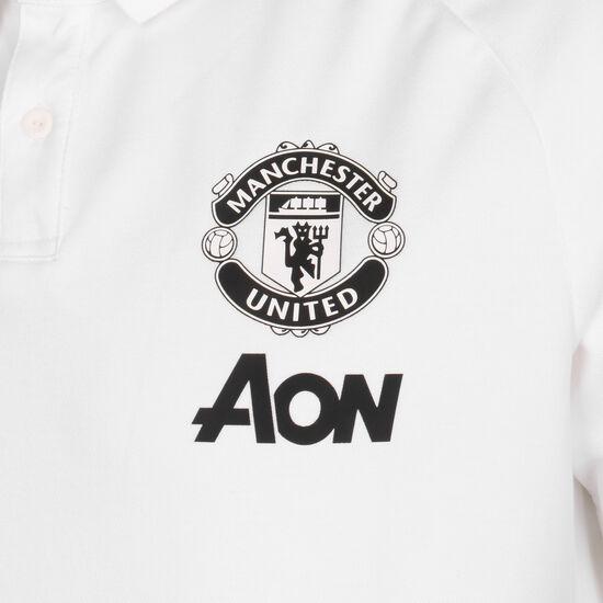 Manchester United Poloshirt Herren, weiß, zoom bei OUTFITTER Online