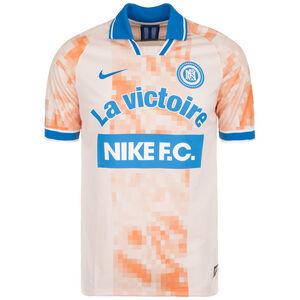 F.C. Home Fußballtrikot Herren, orange / blau, zoom bei OUTFITTER Online
