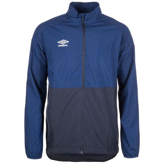 Training Shower Regenjacke Herren, blau / dunkelblau, zoom bei OUTFITTER Online