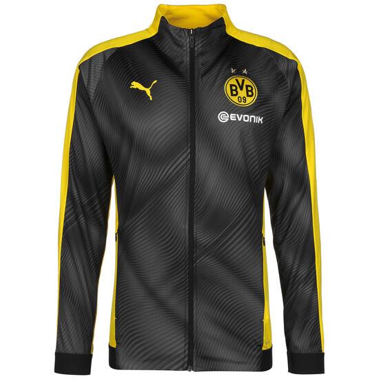 Borussia Dortmund League Stadium Trainingsjacke Herren, schwarz / gelb, zoom bei OUTFITTER Online