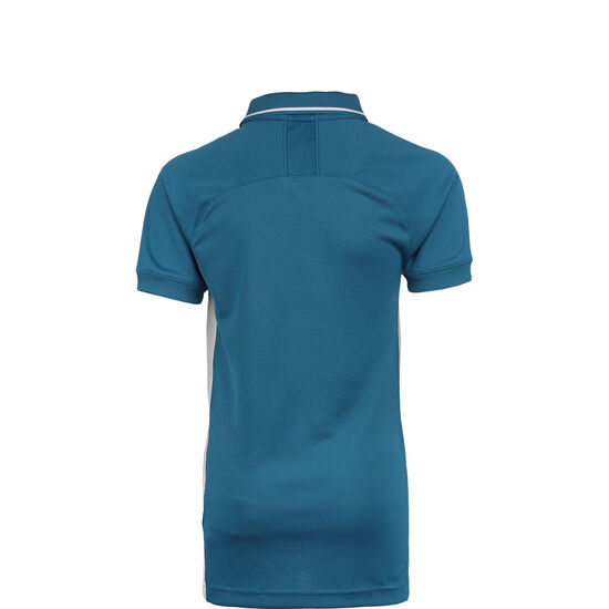 Dry Academy 19 Poloshirt Kinder, petrol / weiß, zoom bei OUTFITTER Online