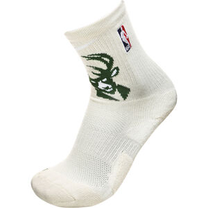 NBA Milwaukee Bucks Elite Socken Herren, beige / grün, zoom bei OUTFITTER Online