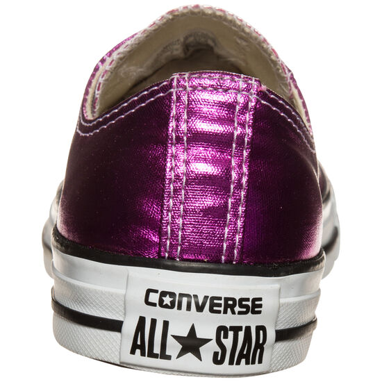 Chuck Taylor All Star Metallic OX Sneaker Damen, Rot, zoom bei OUTFITTER Online
