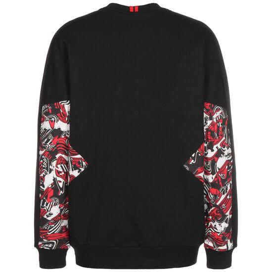 AC Mailand TFS Crew Sweatshirt Herren, schwarz / rot, zoom bei OUTFITTER Online