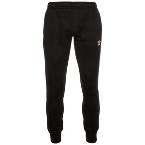 Tapered Fleece Trainingshose Herren, schwarz, zoom bei OUTFITTER Online