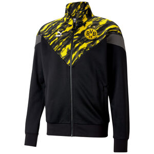 Borussia Dortmund Iconic MCS Graphic Trainingsjacke Herren, schwarz / gelb, zoom bei OUTFITTER Online