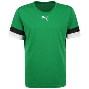 TeamRISE Fußballtrikot Herren, grün / schwarz, zoom bei OUTFITTER Online