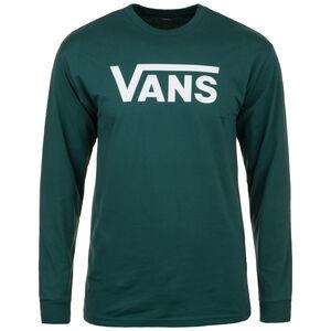 Classic LS Sweatshirt Herren, grün / weiß, zoom bei OUTFITTER Online