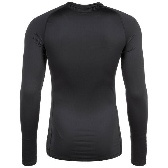 Pro Trainingslongsleeve Herren, schwarz / weiß, zoom bei OUTFITTER Online
