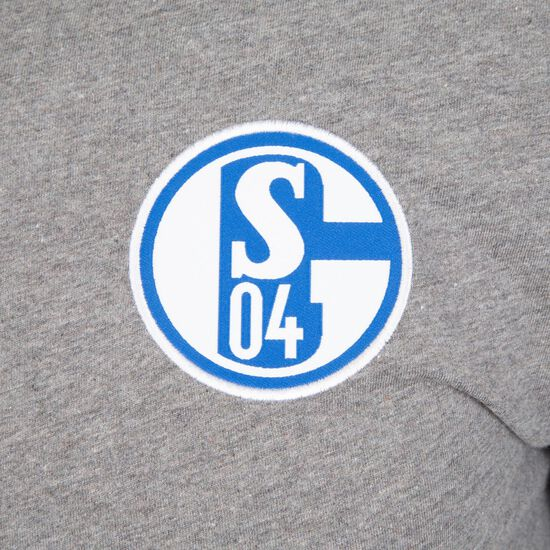FC Schalke 04 Crew T-Shirt Herren, grau, zoom bei OUTFITTER Online