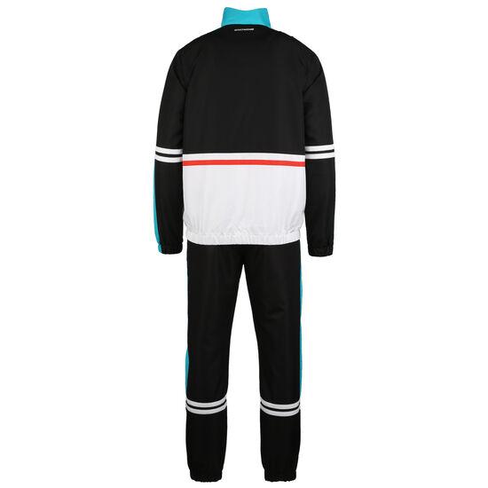 Felix Jogginganzug Herren, schwarz / weiß, zoom bei OUTFITTER Online