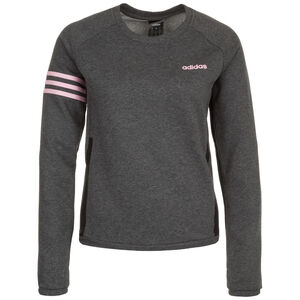 Essential Motion Pack Sweatshirt Damen, dunkelgrau / pink, zoom bei OUTFITTER Online