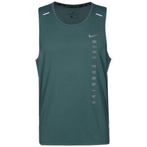 Run Division Miler Hybrid Lauftank Herren, graugrün, zoom bei OUTFITTER Online