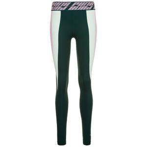 Own It Full Trainingstight Damen, dunkelgrün / rosa, zoom bei OUTFITTER Online