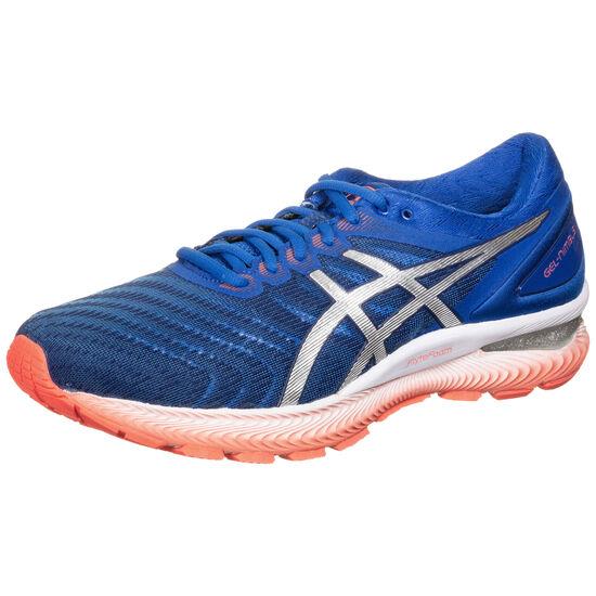 Gel-Nimbus 22 Laufschuh Herren, blau / silber, zoom bei OUTFITTER Online