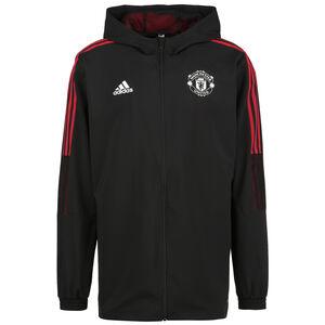 Manchester United Präsentationsjacke Herren, schwarz / rot, zoom bei OUTFITTER Online