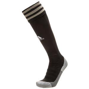 Adi Sock 18 Sockenstutzen, schwarz / gold, zoom bei OUTFITTER Online