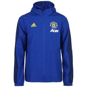Manchester United All-Weather Trainingsjacke Herren, blau / schwarz, zoom bei OUTFITTER Online