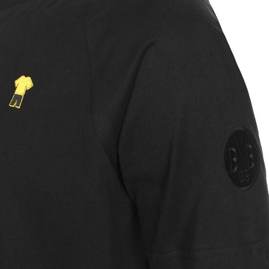 Borussia Dortmund FtblFEAT Game T-Shirt Herren, schwarz / gelb, zoom bei OUTFITTER Online