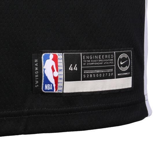 NBA San Antonio Spurs #10 DeRozan Basketballtrikot Herren, schwarz / silber, zoom bei OUTFITTER Online