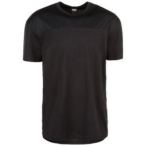 Mesh Panel T-Shirt Herren, schwarz, zoom bei OUTFITTER Online