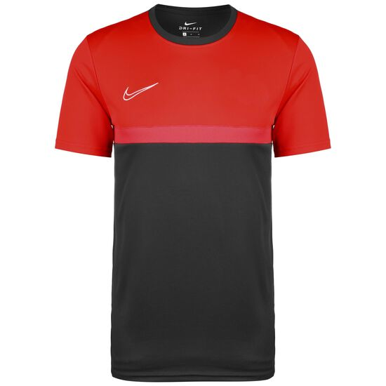 Dry Academy Pro Trainingsshirt Herren, anthrazit / rot, zoom bei OUTFITTER Online