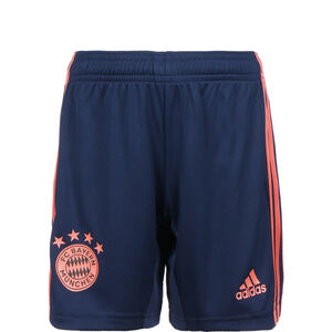 FC Bayern München Short 3rd 2019/2020 Kinder, dunkelblau / rot, zoom bei OUTFITTER Online