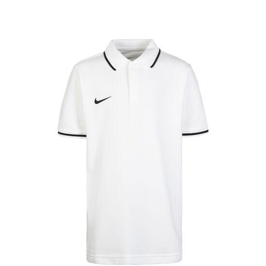 Club19 TM Poloshirt Kinder, weiß / schwarz, zoom bei OUTFITTER Online