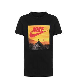 Air Photo T-Shirt Kinder, schwarz / gelb, zoom bei OUTFITTER Online