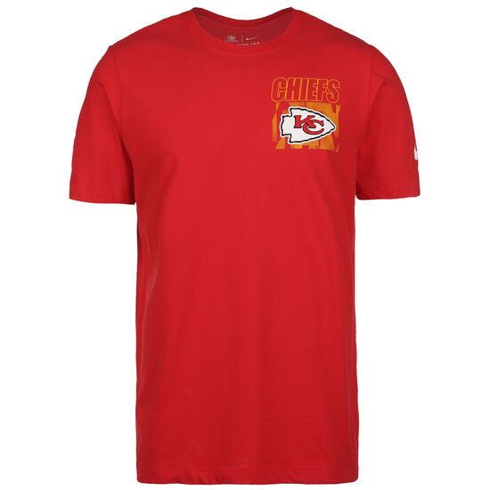 NFL Cotton Facility Kansas City Chiefs T-Shirt Herren, rot, zoom bei OUTFITTER Online