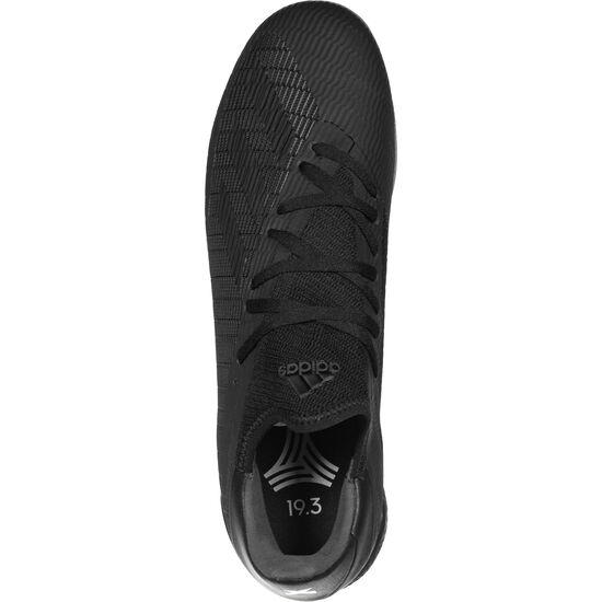 X 19.3 Indoor Fußballschuh Herren, schwarz / silber, zoom bei OUTFITTER Online