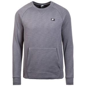 Optic Fleece Crew Sweatshirt Herren, dunkelgrau, zoom bei OUTFITTER Online