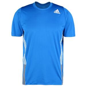 FreeLift 3-Streifen Trainingsshirt Herren, blau / weiß, zoom bei OUTFITTER Online
