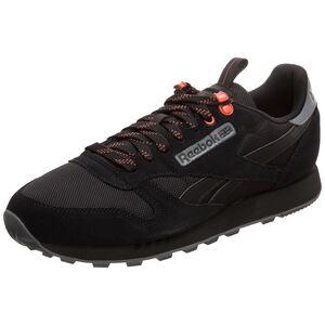 Classic Leather MU Sneaker, schwarz / orange, zoom bei OUTFITTER Online