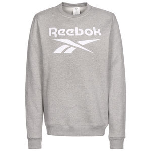 Identity Fleece Sweatshirt Herren, grau / weiß, zoom bei OUTFITTER Online