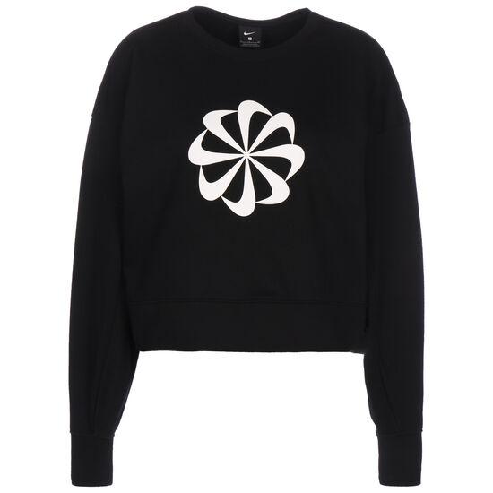 Icon Clash Dry Fleece Trainingssweat Damen, schwarz / weiß, zoom bei OUTFITTER Online