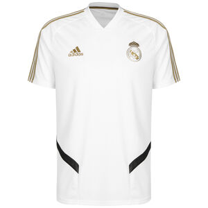 Real Madrid Trainingstrikot Herren, weiß / gold, zoom bei OUTFITTER Online