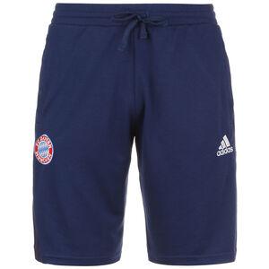 FC Bayern München Travel Shorts Herren, dunkelblau / weiß, zoom bei OUTFITTER Online