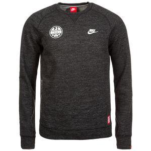 NUR DIE SGE Eintracht Frankfurt Legacy Crew Sweatshirt Herren, anthrazit / weiß, zoom bei OUTFITTER Online
