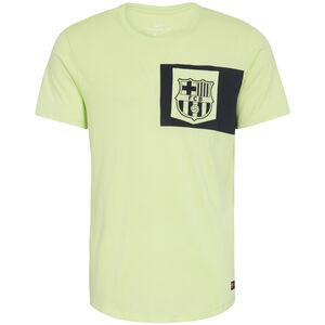 FC Barcelona Crest T-Shirt Herren, lime / schwarz, zoom bei OUTFITTER Online