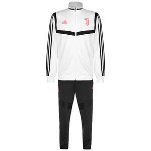 Juventus Turin 3-Streifen Trainingsanzug Herren, weiß / schwarz, zoom bei OUTFITTER Online