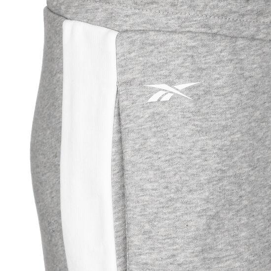 Training Essentials Linear Logo Trainingshose Damen, grau / weiß, zoom bei OUTFITTER Online
