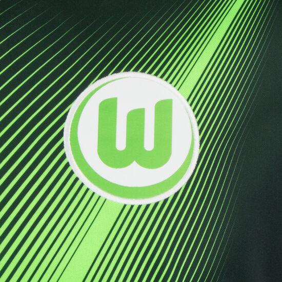 VfL Wolfsburg Trikot Home Stadium 2019/2020 Herren, grün / neongrün, zoom bei OUTFITTER Online