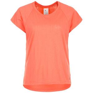 Burnout Trainingsshirt Damen, apricot, zoom bei OUTFITTER Online
