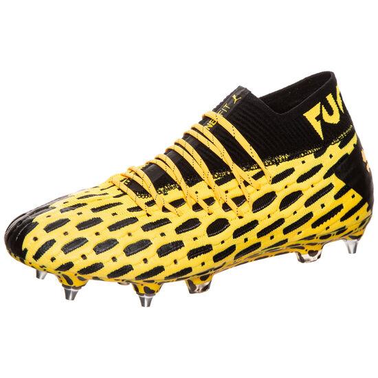 Future 5.1 NETFIT MxSG Fußballschuh Herren, gelb / schwarz, zoom bei OUTFITTER Online