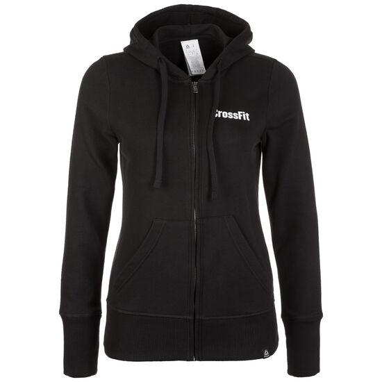 CrossFit Zip Trainingsjacke Damen, schwarz, zoom bei OUTFITTER Online